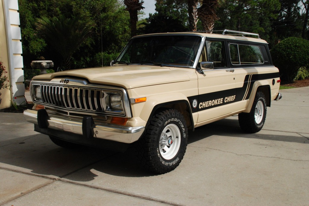 1983 jeep cherokee chief for sale. Black Bedroom Furniture Sets. Home Design Ideas
