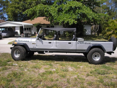 1984 Jeep CJ 4 DR–CONVERTIBLE–TRUCK for sale