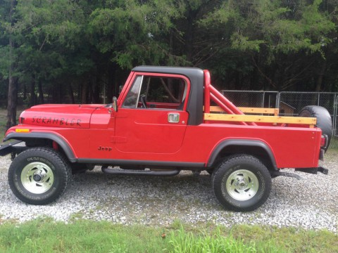 1984 Jeep CJ8 Scrambler for sale
