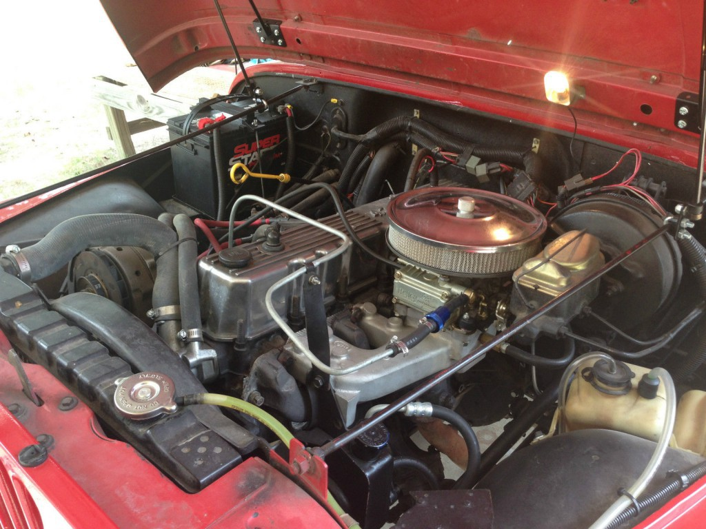 1984 Jeep CJ8 Scrambler
