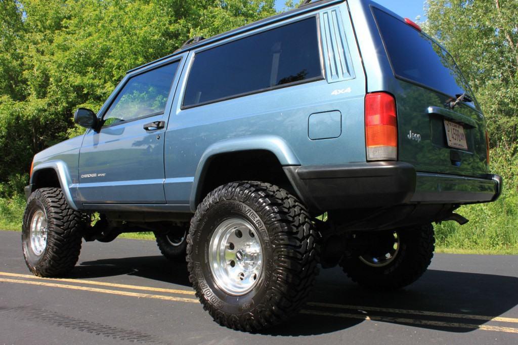 jeep cherokee 1988 factory workshop repair service manual