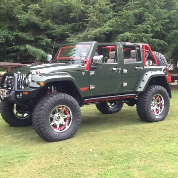 2009 Jeep Wrangler Unlimited Hemi 4×4 JK for sale