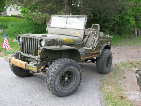 1943 jeep Willys for sale