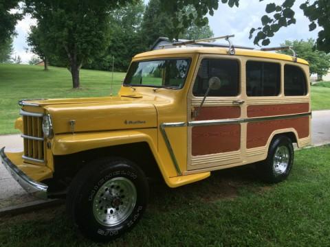 1950 Jeep Willys Wagon 4X4 for sale