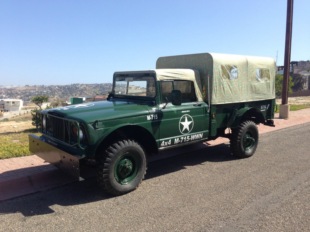 Kaiser Jeep M For Sale X on 1968 Jeep Kaiser M715 For Sale