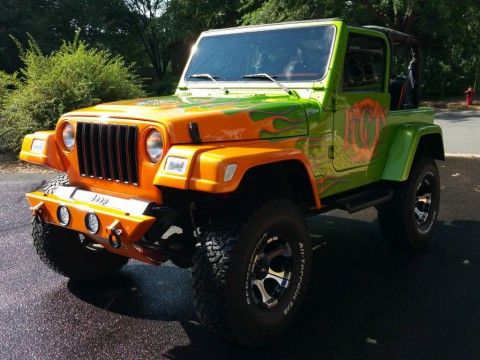 1998 Jeep Wrangler Custom Wrangler Sport for sale