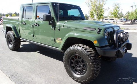 2013 Jeep Wrangler Filson Edition AEV Brute Double Cab 6.4L V8 for sale