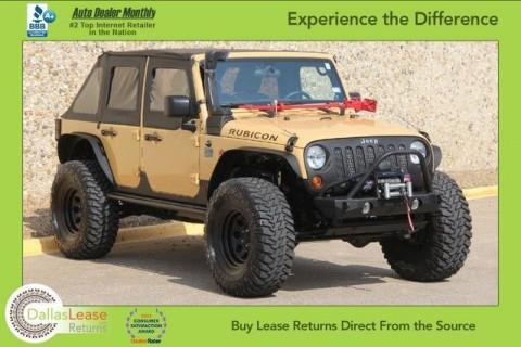 2013 Jeep Wrangler Rubicon 4X4 for sale