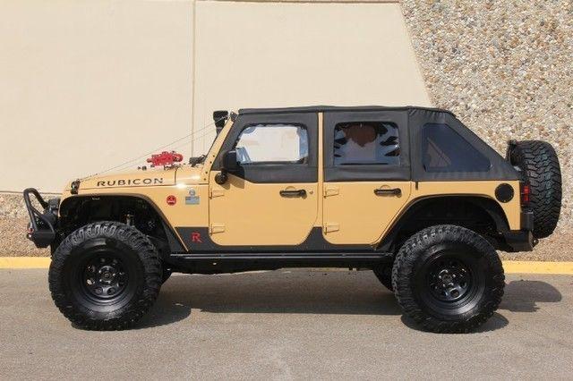 2013 Jeep Wrangler Rubicon 4X4