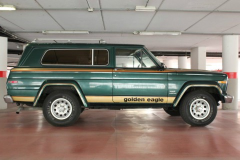 1980 Jeep Cherokee Golden Eagle 4.2 l for sale