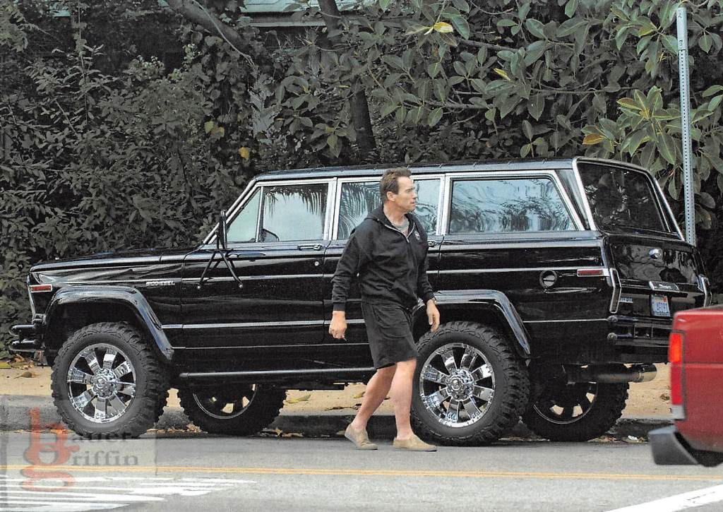 1984 Jeep Wagoneer Bio Diesel engine once owned by Schwarzenegger !