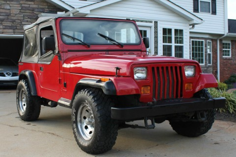 1990 Jeep Wrangler YJ, V8 for sale