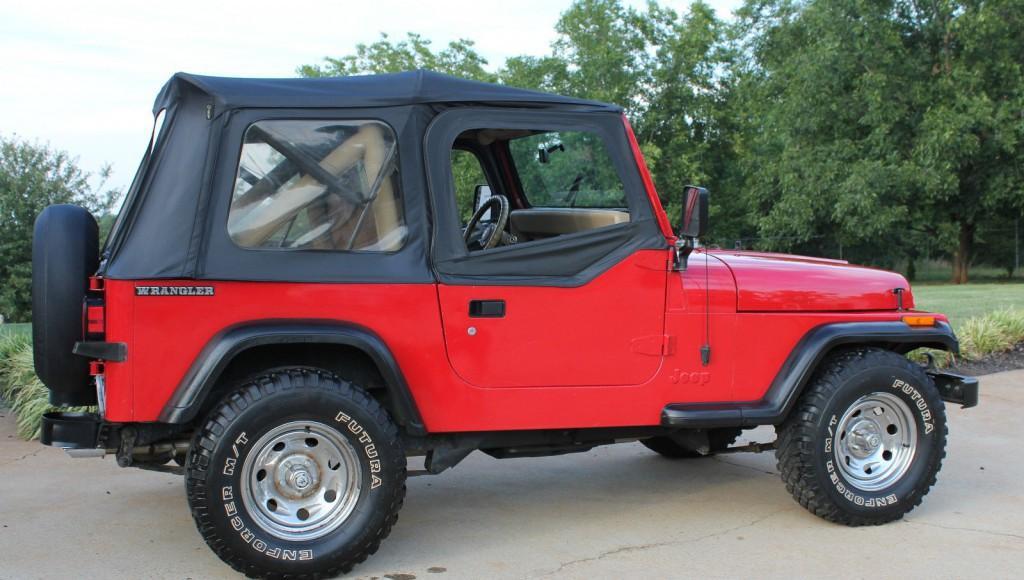 1990 jeep wrangler yj v8 for sale. Black Bedroom Furniture Sets. Home Design Ideas