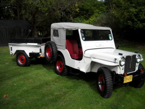 1950 Willys Jeep CJ 3A for sale
