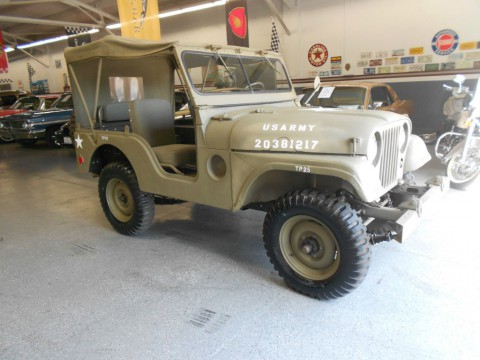 1952 Jeep Willys M38 A1 military Jeep for sale
