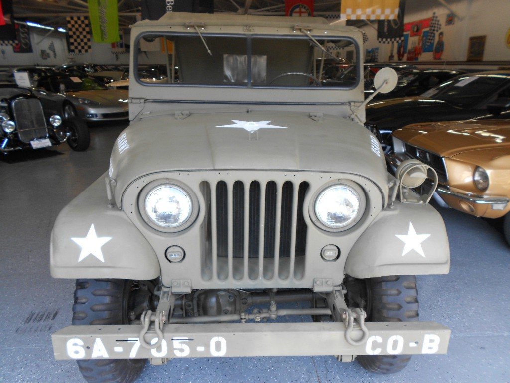 1952 Jeep Willys M38 A1 military Jeep