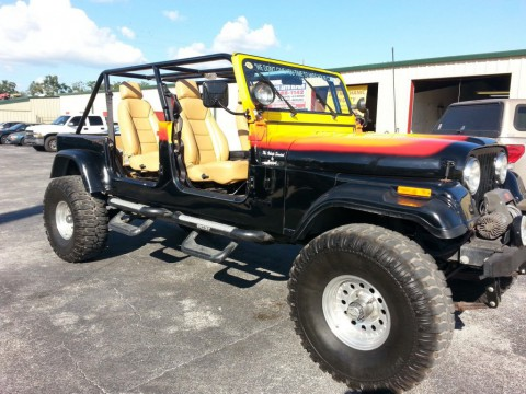 1981 Jeep CJ 7 4×4 with a Corvette LS1 V8 for sale