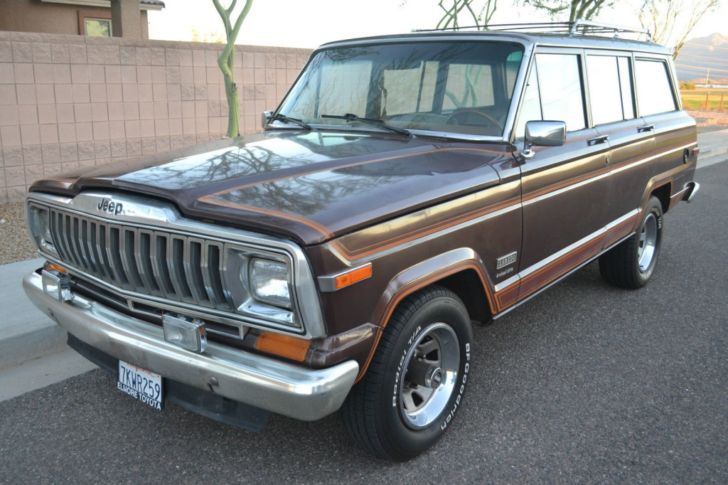 1982 Jeep Cherokee AMC LAREDO 4X4 for sale