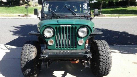 1991 Jeep Wrangler YJ for sale