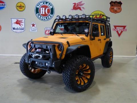 2015 Jeep Wrangler Sport 4X4 Custom Kevlar Lift,nav,mbrp Rack,led Lights,htd LTH! for sale
