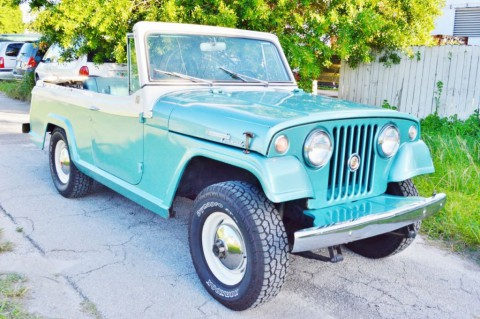 1968 Jeep Jepster V6 – automatic – 4×4 for sale