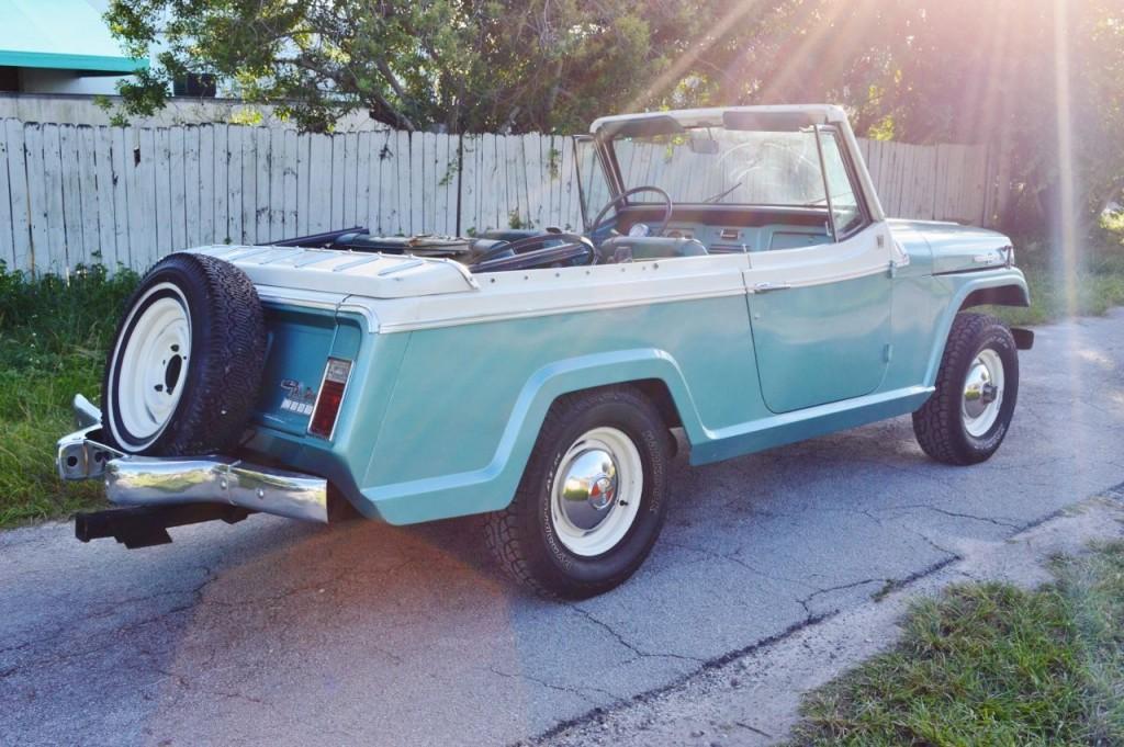 1968 Jeep Jepster V6 – automatic – 4×4