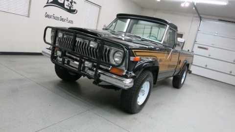 "1977 Jeep J-10 ""Honcho"" 4×4 Pickup for sale"