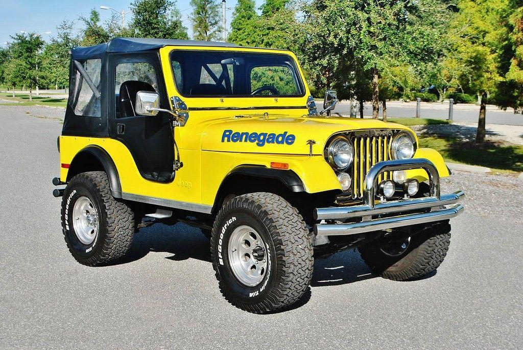 1978 Jeep Renegade 304 V8