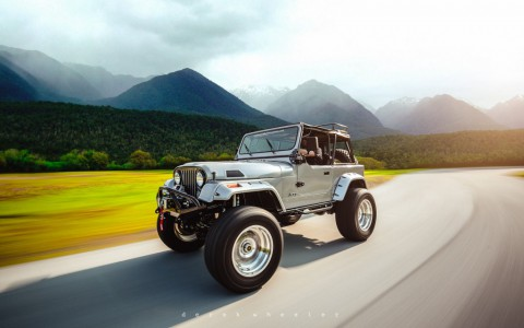 1982 Jeep CJ Overbuilt Customs CJ7 Extreme for sale
