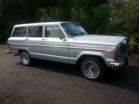1983 Jeep Wagoneer Brougham Sport Utility 4-Door 5.9L for sale