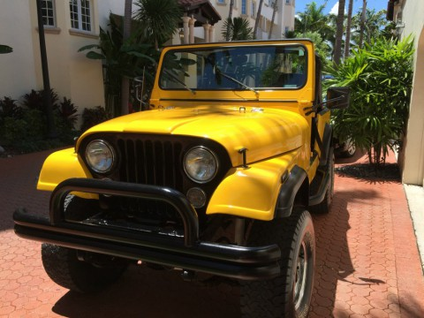 1984 Jeep CJ7 for sale