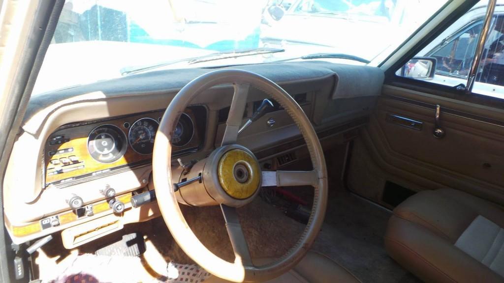 1984 Jeep Wagoneer Grand Wagoneer