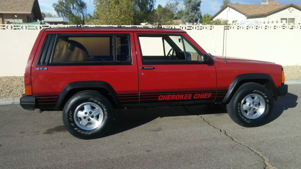 2007 Jeep Cherokee For Sale 1988 Jeep Cherokee Chief for sale