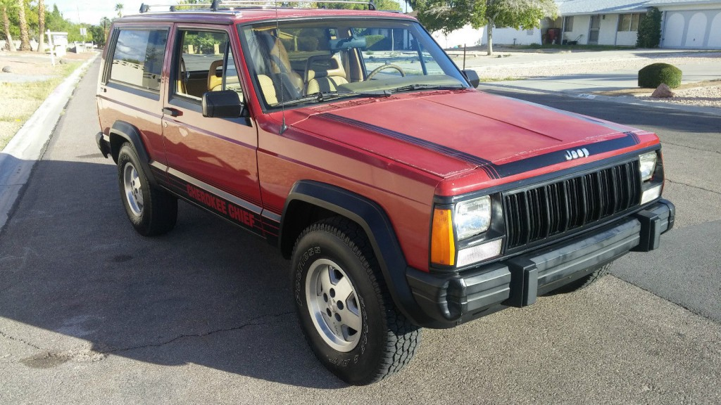 1988 jeep cherokee chief for sale. Black Bedroom Furniture Sets. Home Design Ideas