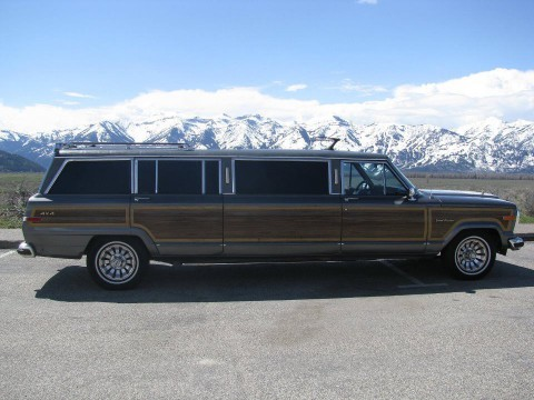 1988 Jeep Grand Wagoneer 4×4 Limousine for sale