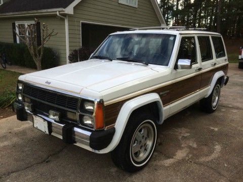 1989 Jeep Cherokee Pioneer Limited for sale