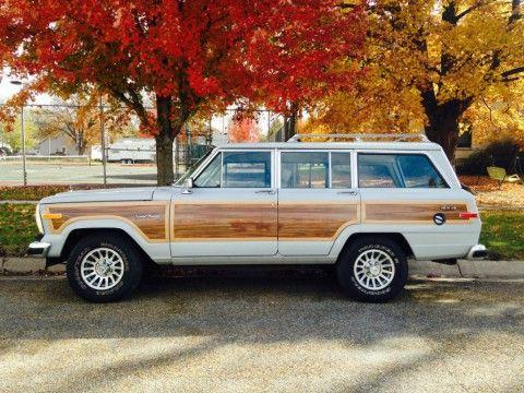 1989 Jeep Wagoneer Sport Utility 4-Door 5.9L for sale
