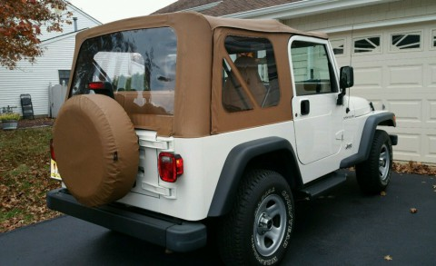 1997 Jeep Wrangler SE Sport Utility 2-Door 2.5L for sale