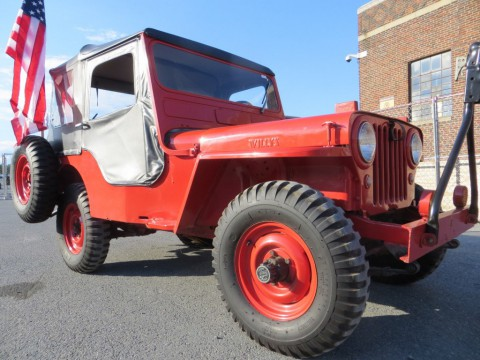 1951 Jeep Willys CJ3A for sale