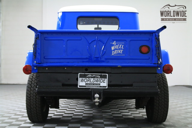 1952 Jeep Willys Pickup Truck