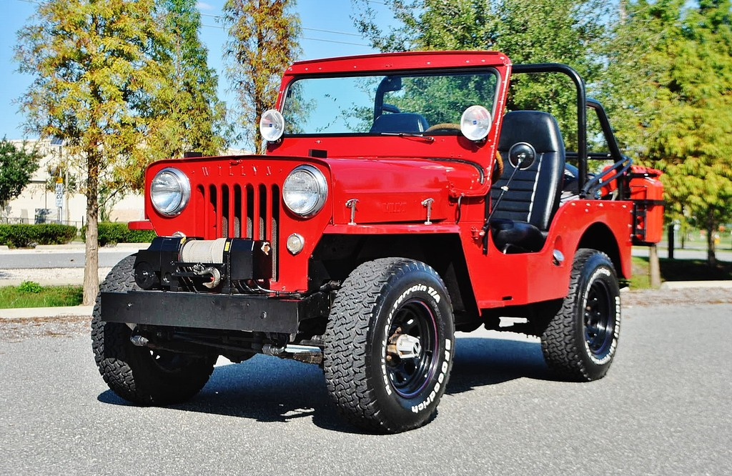 1954 Willys Jeep Fully restored for sale
