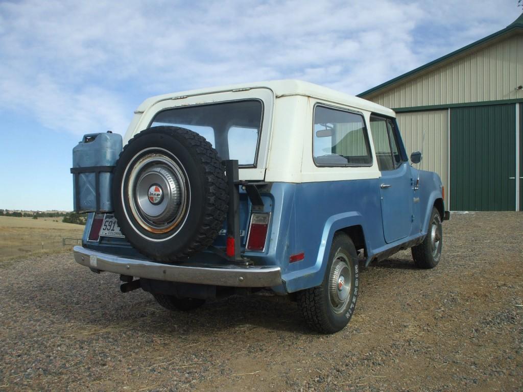1972 Jeep Commando 304 V8 4X4 A