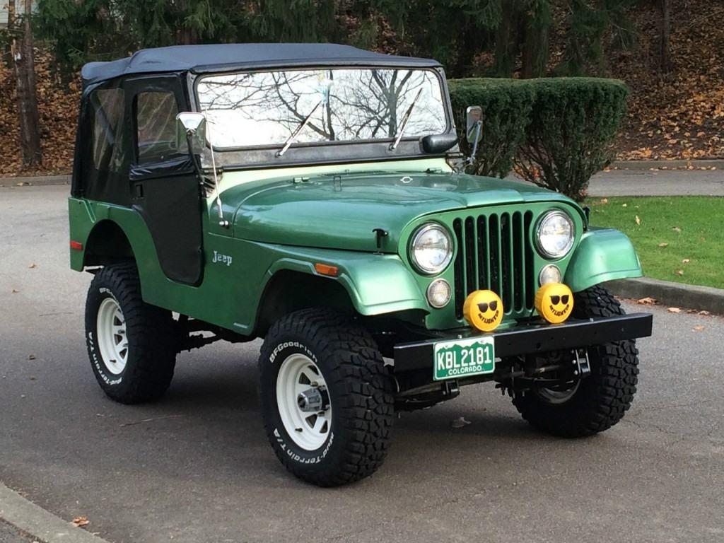 Jeep Renegade Trailhawk For Sale >> 1973 ALL ORIGINAL Jeep CJ5 for sale
