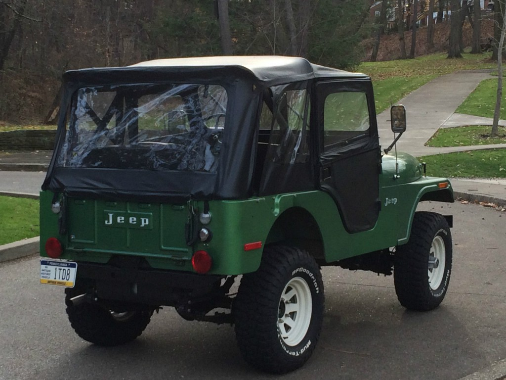 Jeep Renegade Lifted >> 1973 ALL ORIGINAL Jeep CJ5 for sale