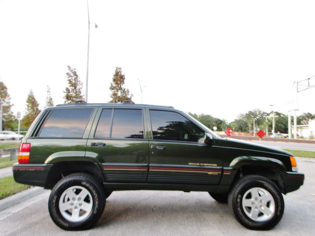 1995 jeep cherokee grand orvis limited edition 4x4 for sale. Black Bedroom Furniture Sets. Home Design Ideas