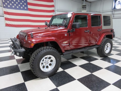 2008 Jeep Wrangler 4dr 4X4 Sahara for sale