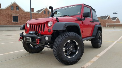 2009 Jeep Wrangler OFFROAD READY 2-Door 3,8 l for sale