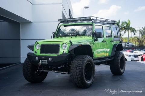 2014 Jeep Wrangler SEMA Show Car for sale