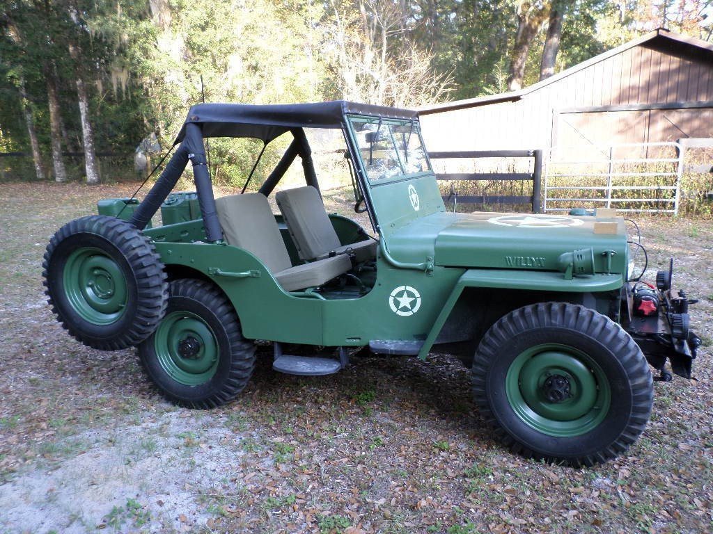 1945 Jeep Willys CJ2A