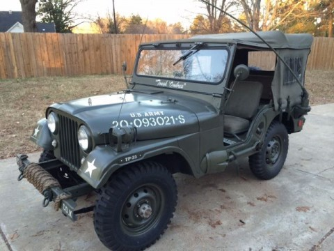 1957 jeep CJ-5 M38-A1 for sale